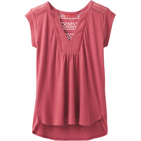 Prana Yvonna - T-shirt manches courtes Femme - rouge